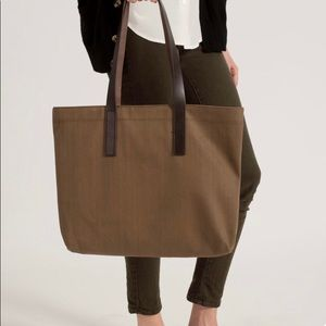 Everlane Twill Tote Bag
